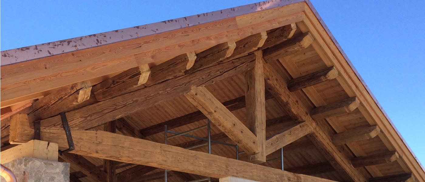 Ristrutturazioni tetti in legno